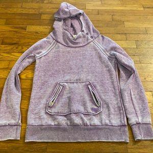 Roxy purple hoodie